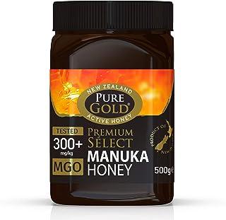 Pure Gold Premium Seleccione Miel de Manuka 300 Plus Mgo , 500G