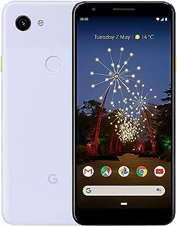 "Google Pixel 3A (2019) G020F 64GB 5.6"" inch SIM-Free Factory Unlocked 4G/LTE Smartphone - International Version (Purple-ish)"