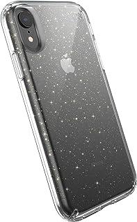 Speck Presidio Glitter Case for Apple iPhone XR - Clear/Gold Glitter