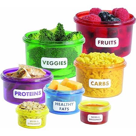 Kitchen Craft Envases alimenticios saludables para control de ...