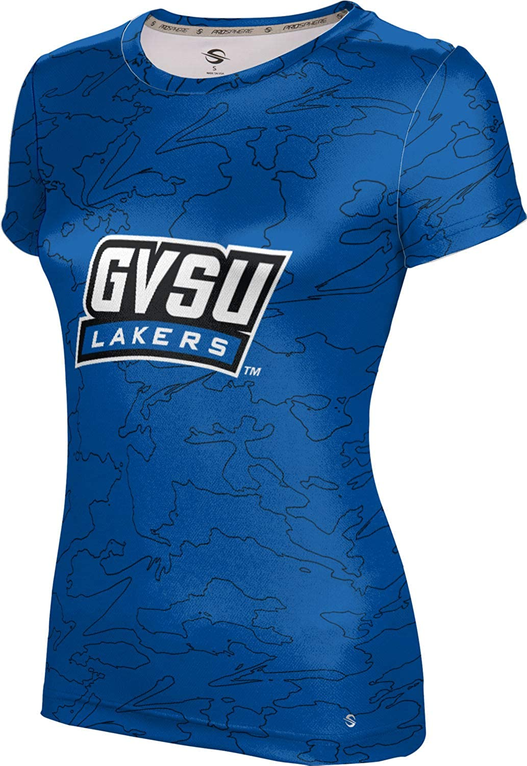 ProSphere Grand Valley State University Girls' Performance T-Shirt (Topography)