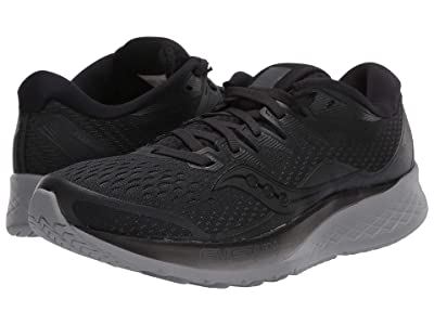 Saucony Ride ISO 2 (Blackout) Women