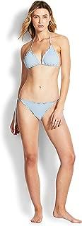 Seafolly Women's Stardust Slide Tri Bikini Top