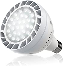 Bonbo LED Pool Bulb White Light, 120V 50watt 6500k Daylight White Swimming Pool LED Light Bulb E26 Base 300-600w Traditional Bulb Replacement for Most Pentair Hayward Light Fixture