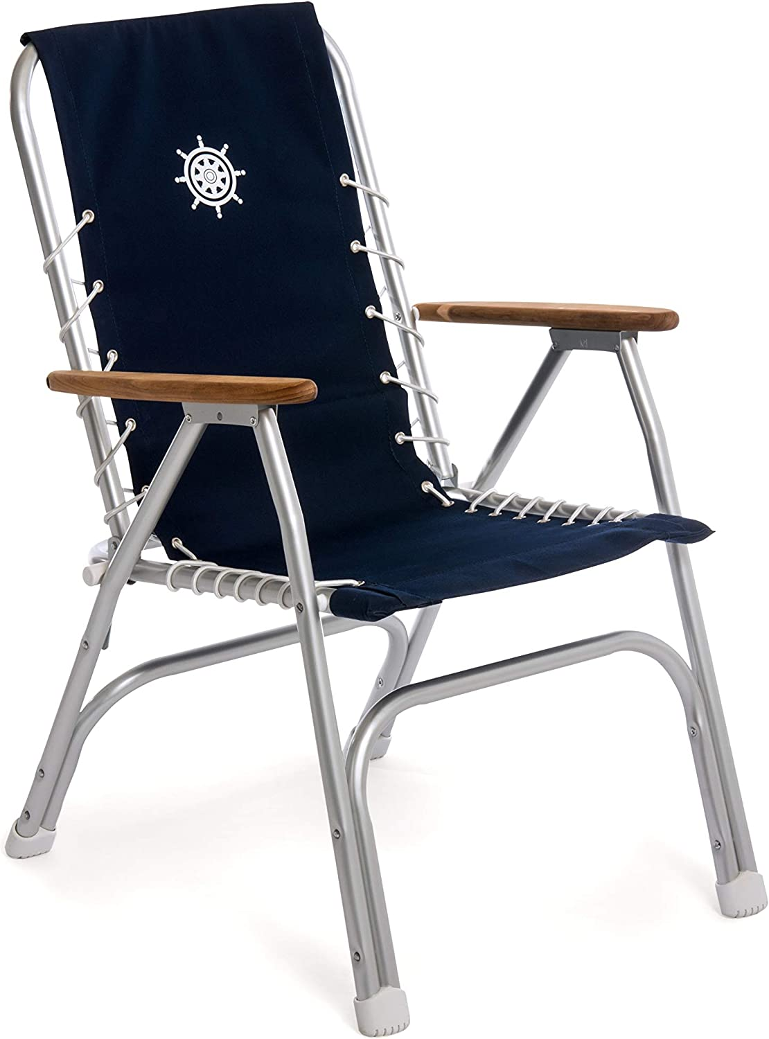 FORMA MARINE Detroit Mall High Ranking TOP16 Back Navy Boat Blue Chair Folding Deck