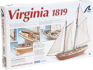 ARTESANÍA LATINA Maqueta de Barco en Madera: Virginia American Schooner