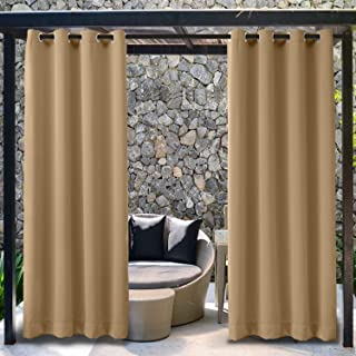 extra wide grommet drapes