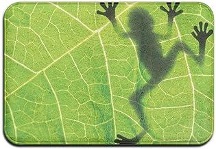 Biology Animal Frog Leaf Doormat Anti-slip House Garden Gate Carpet Door Mat Floor Pads
