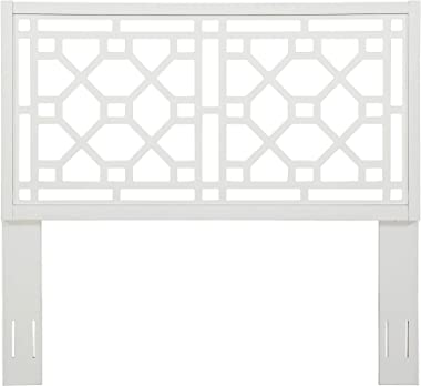 Source One Tulane Chippendale White Queen/Full Headboard,