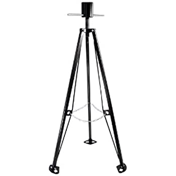 Camco Eaz-Lift King Pin Tripod 5th Wheel Stabilizer, Adjustable from 38.5-Inches to 50-Inches - (48855)