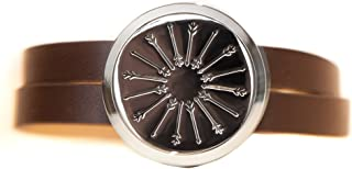 Stainless Steel Diffuser Wrap Bracelet