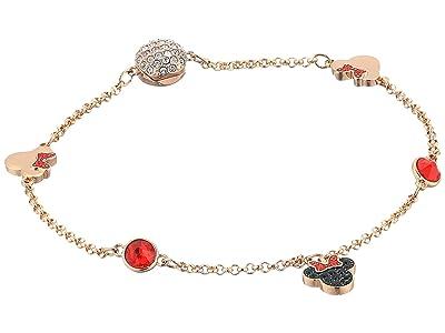 Swarovski Remix Collection Minnie Strand Charm Bracelet (Rose Gold/Rose Gold Shiny Plating) Bracelet