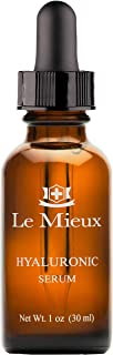 Le Mieux Hyaluronic Serum - Concentrated Facial Moisture Complex for Intense Hydration & No Greasy Feel (1 oz / 30 ml)