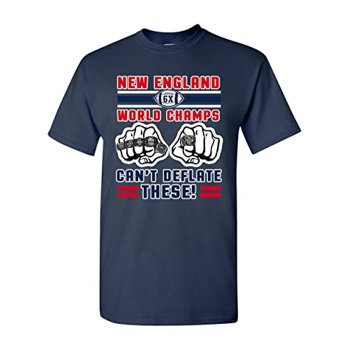 World Champs Can t Deflate These Football Sports DT Adult T-Shirt Tee 53963c134
