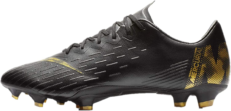Nike Men's Vaporx 12 Pro Fg Footbal shoes, Black-Dark Grey 070, 6 UK