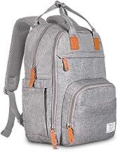TETHYS Diaper Bag Backpack [Multifunction Waterproof Travel Back Pack] Maternity Baby..