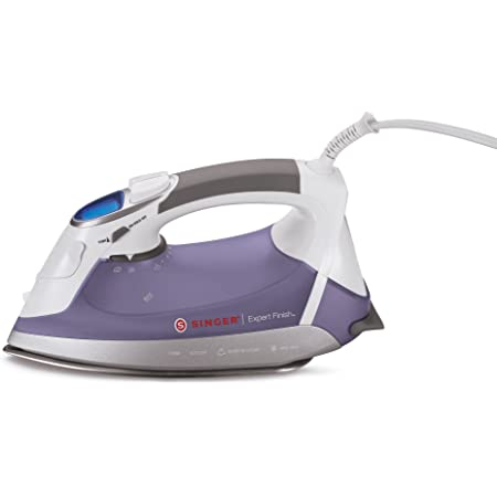 SINGER | Expert Finish Iron 1700W EF.04 Anti-Drip, Stainless Steel Soleplate, LED Display