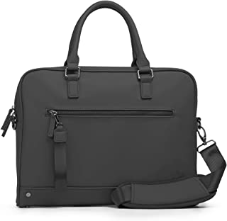 The Friendly Swede 13 inch Slim Laptop Bag for Women and Men - Minimalist Messenger Bag, Vegan