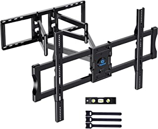 Full Motion Swivel Articulating TV Wall Mount Bracket for Most 50-100 inch LCD, OLED 4K Flat Curved TV with 29 Inch Long E...