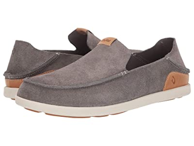 OluKai Nalukai Kala Slip-On (Fog/Bone) Men