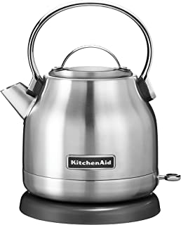 KitchenAid 1.25 Liter Electric Kettle | Brushed Stainless Steel (Renewed)