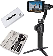 Zhiyun Smooth 4 3 Axis Handheld Gimbal Stabilizer, Focus Pull & Zoom Capability, Timelapse Expert, Object Tracking, Two-Way Charging & 12h Runtime, Phonego Mode for Instant Scene Transition (Black)