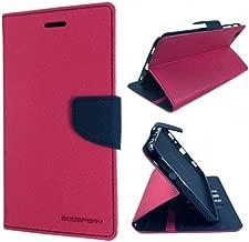 JMD Fancy Diary Wallet Flip Cover Case For Motorola Moto G5 Plus / Moto G Plus (5th Gen) (Pink)