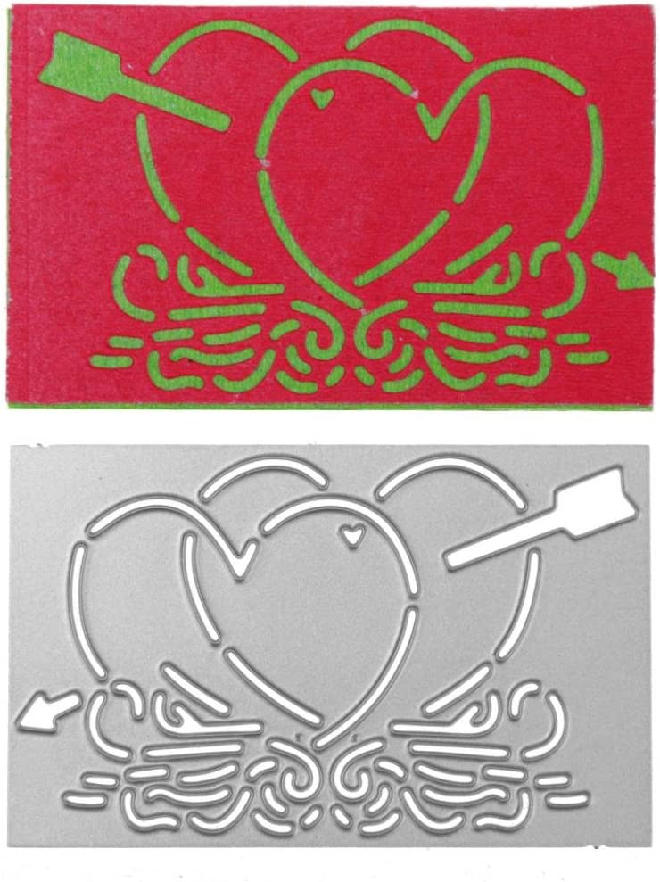 Metal Cutting Dies Candice Embossing Stencil Stamp Template for DIY Scrapbooking Album Paper Card Craft Decoration by Celucke A
