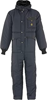 RefrigiWear Men's Iron-Tuff Insulated Coveralls with Hood -50F Extreme Cold Suit