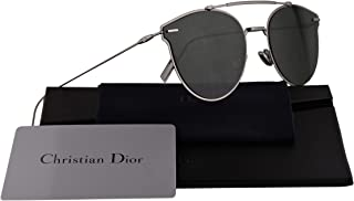 baaf45901bcd0 Christian Dior Homme DiorPressure Sunglasses Ruthenium w Green Lens 57mm  6LB07 Dior Pressure Dior Pressure