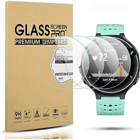 nicht Panzerglas Displayschutzfolie Bildschirmschutz Blasenfreies Vaxson 3 St/ück Schutzfolie kompatibel mit GARMIN Descent Mk2 Mk2i
