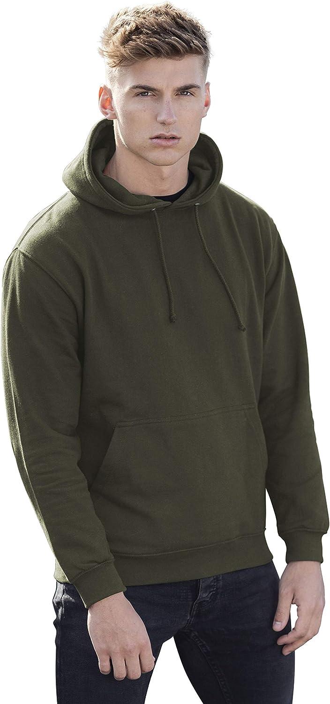 MKR Plain Hooded Sweatshirt Pullover Hoodie Unisex