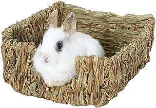 Nido de césped y cama natural para cobayas chinchillas y conejos