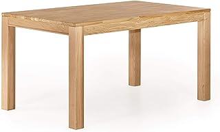 Marque Amazon -Alkove Hayes - Table de salle à manger fixe au style classique, 150x90x77cm, Chêne sauvage