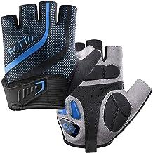 ROTTO fietshandschoenen MTB-handschoenen halve vinger hele vinger voor heren dames met gel en SBR padding