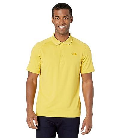 The North Face Short Sleeve Horizon Polo (Bamboo Yellow) Men
