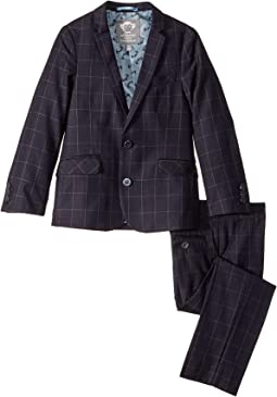Navy Windowpane 1