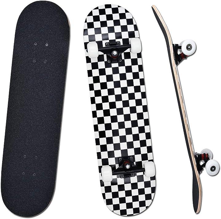 Skateboard per principianti bambini giovani e adulti yudoxn completo B08P8KD8GP