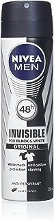 Nivea For Men Invisible Power Anti-Perspirant Spray 150ML (6 Pack)