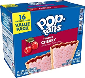 Kelloggs Pop Tarts Frosted Cherry 16 Pack