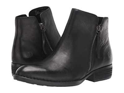 Born Olio (Black Full Grain Leather) Women
