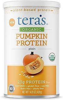 teraswhey Organic Pumpkin Protein, Plain Unsweet, 14.8 oz
