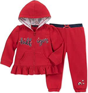 350de3fba4b2a Tommy Hilfiger Baby Girls 2-Pc. Peplum Hoodie & Pants Set