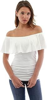 Women Flutter Off Shoulder Blouse