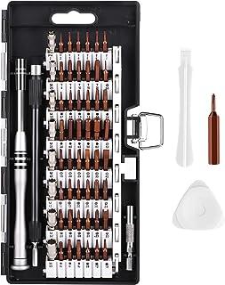 Syntus 63 in 1 Precision Screwdriver Set with 57 Bit Magnetic Screwdriver Kit Electronics Repair Tool Kit for iPhone, Tabl...