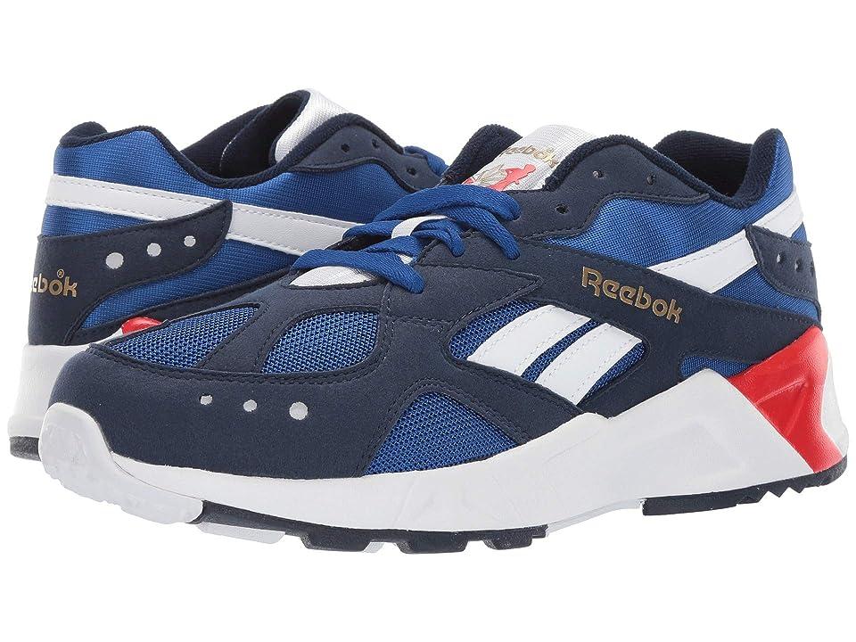 Reebok Kids Aztrek (Big Kid) (Navy/Royal/White/Red/Grey) Boys Shoes