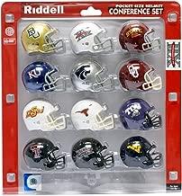 NCAA Big 12 Conference Pocket Size Helmet Set (12-Piece)