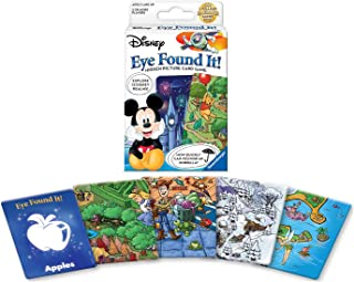 Wonder Forge World of Disney Eye Found It Card Game for Boys & Girls Age 3 & Up - Hidden picture card game with your favorite Disney characters!
