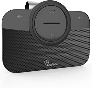 Car Speakerphone VeoPulse B-PRO 2 Hands Free with Bluetooth Automatic Cellphone Connection - Safe Hands-free kit Talking and Driving Wireless Technology - Compatible with All Cars and Bluetooth Phones