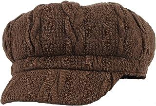 522f559b6bc8b Gemvie Women Ladies Cotton Knitted Vintage Baker Boy Cap Autumn Winter 8  Panel Newsboy Cap